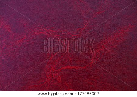 red leather texture with a smooth surface