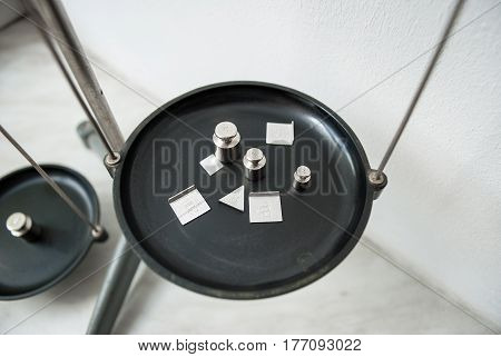 A Set Of Weights