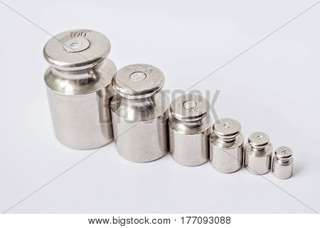 A Set Of Weights