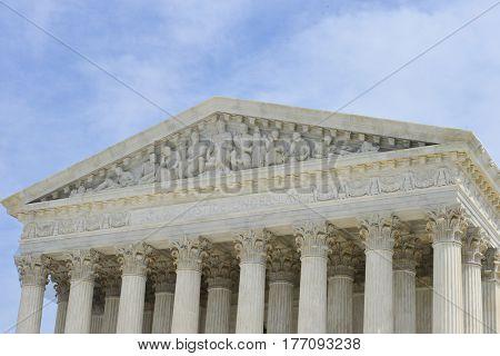 Washington DC in springtime - United States Supreme Court