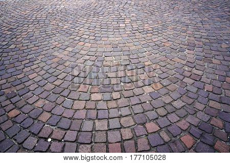 Stone paving texture. Abstract background.