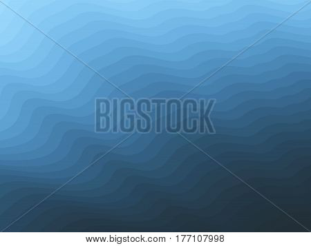 Vector blue water blurry background. Abstract futuristic colorful texture.