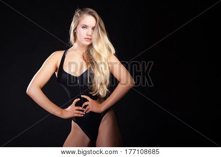 Sexy Beautiful Woman In Corset