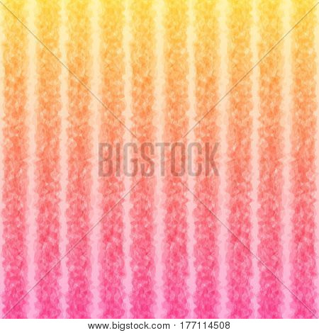 Striped Pattern Colors of Spring Flowers Continuous to Right and to Left. Universal Bright Abstract Background of Gradient Smooth Strips.