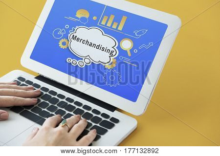 Business Strategy Management Merchandising Illustration
