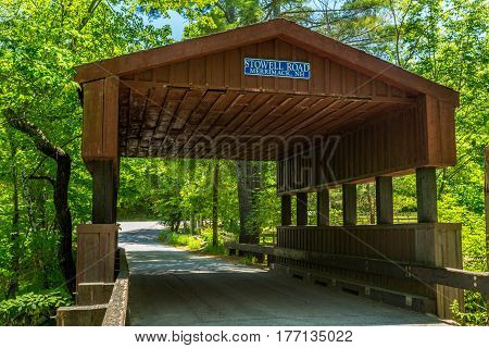 Stowell Road Covered Bridge