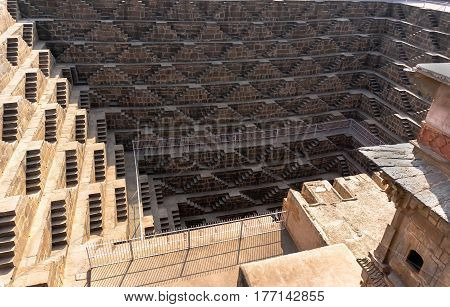 Chand Baori - Speed The Well, The Construction Of Ancient Architecture