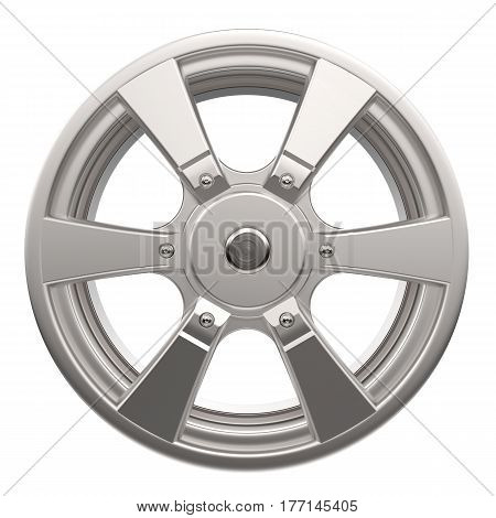 Car Disk Isolated