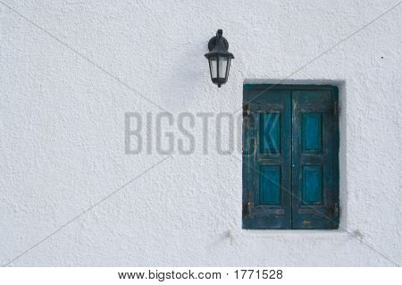 Abstract Window Scene