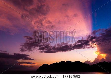 Night is Coming Bright Horizon