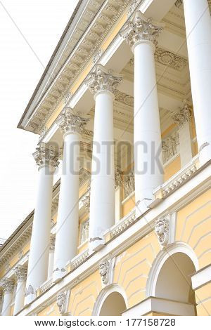 State Russian Museum in St Petersburg Russia.