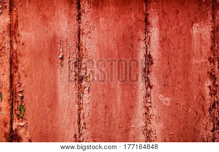 Metal, metal texture, red metal texture, old metal, abstract metal background, peeling paint, metal sheets
