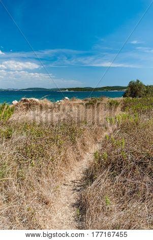 Beautiful Adriatic Sea In Betina, Murter, Croatia
