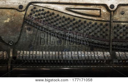 Inside Of A Piano, Vintage