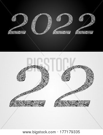 2022 year. Anniversary. World book and copyright day. International Day of writer. International Day of the Book. World Book Day. Studying and learning concept. Vector illustration.