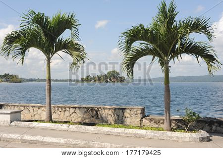 The Coast At Flores Island