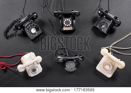 Collection Of Vintage Telephone Instruments