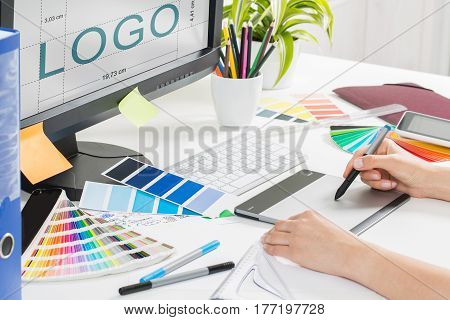 logo design brand designer sketch graphic drawing creative