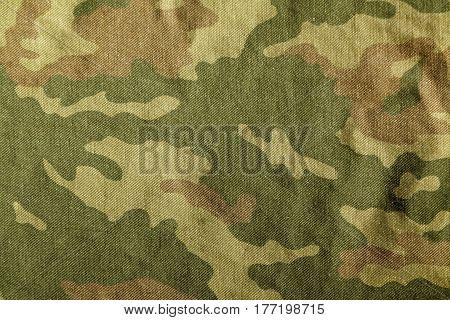 Camouflage Uniform Cloth Pattern.