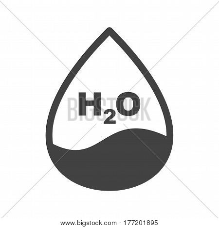 Water, droplet, natural icon vector image. Can also be used for chemistry. Suitable for mobile apps, web apps and print media.