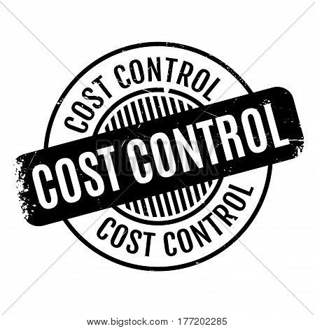 Cost Control rubber stamp. Grunge design with dust scratches. Effects can be easily removed for a clean, crisp look. Color is easily changed.