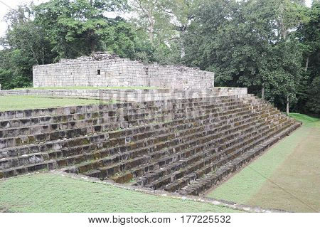 Mayan Archaeological Site Of Quirigua