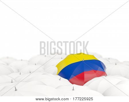 Umbrella With Flag Of Colombia