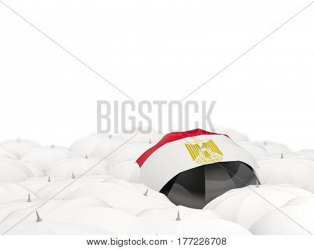 Umbrella With Flag Of Egypt