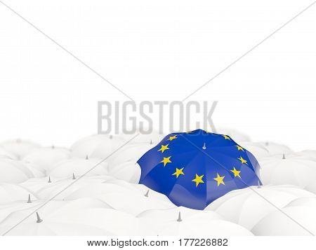 Umbrella With Flag Of European Union