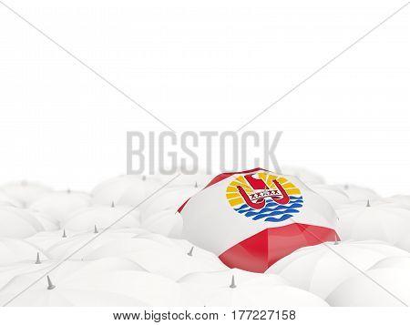 Umbrella With Flag Of French Polynesia