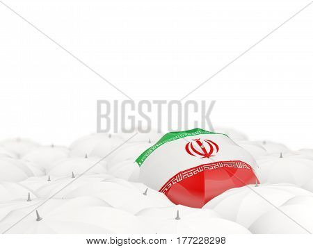 Umbrella With Flag Of Iran