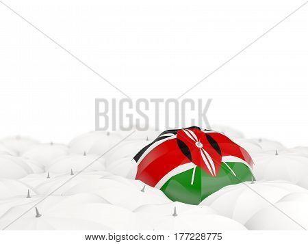 Umbrella With Flag Of Kenya