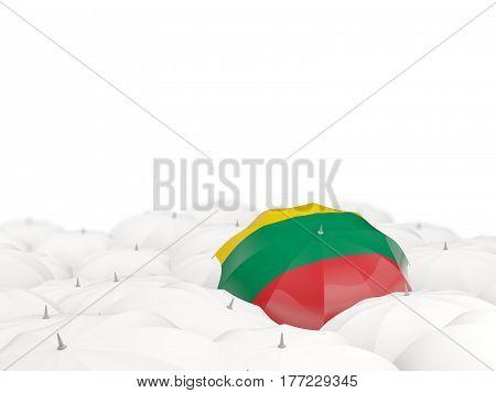 Umbrella With Flag Of Lithuania