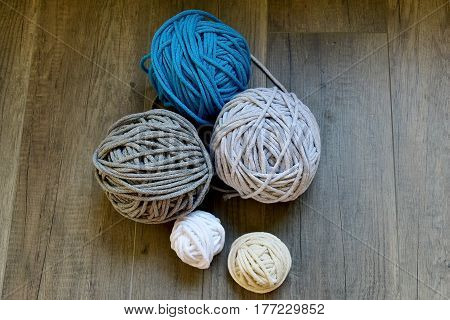 ball color cotton twine for needlework hobby