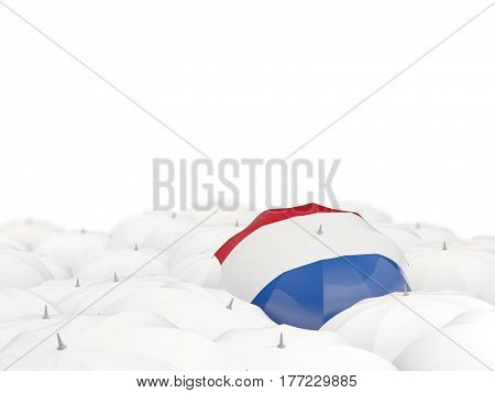 Umbrella With Flag Of Netherlands