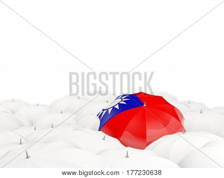 Umbrella With Flag Of Taiwan