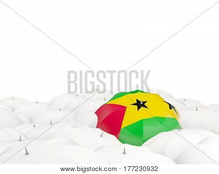 Umbrella With Flag Of Sao Tome And Principe