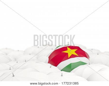 Umbrella With Flag Of Suriname