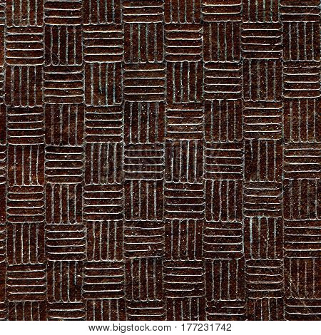 The Sameness Brown Metallic Texture for Background