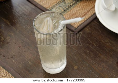 Chinese Lotus Root Juice Serve With Breakfast