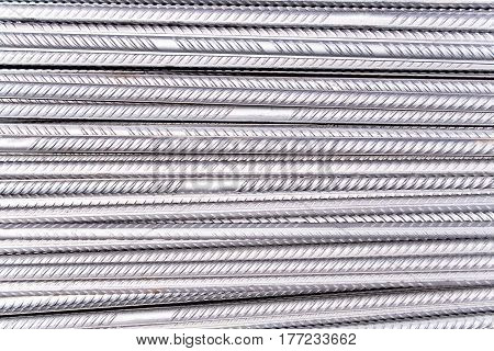 Steel rod texture pattern  as a background