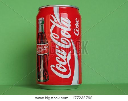 Coca Cola Can In Milan