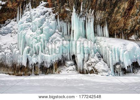 Beautiful Shape Of Splashed Ice