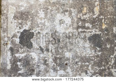 old stained grungy wall for backgrounds and compositions