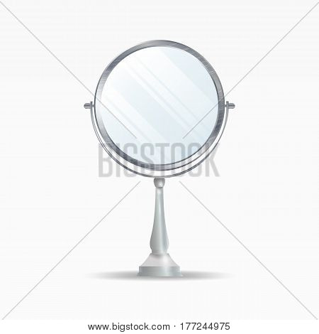 Realistic Mirrors Set Vector. Mirror Frames Or Mirror Decor