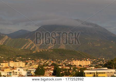 Suburban area (Shushan) near the Bar-city, Montenegro