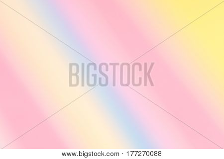 Softly Blurred Diagonal Candy Stripes Background. Spring, Summer.