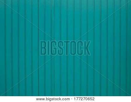 Green Painted Iron Wall Can Use For Background