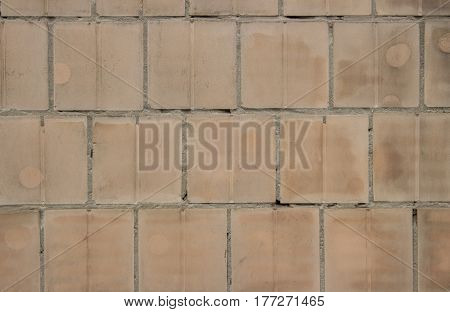 Old Dirty Tiled Wall Can Use For Background