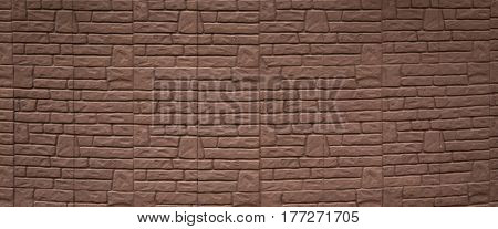 Painted Brick Wall Can Use For Background